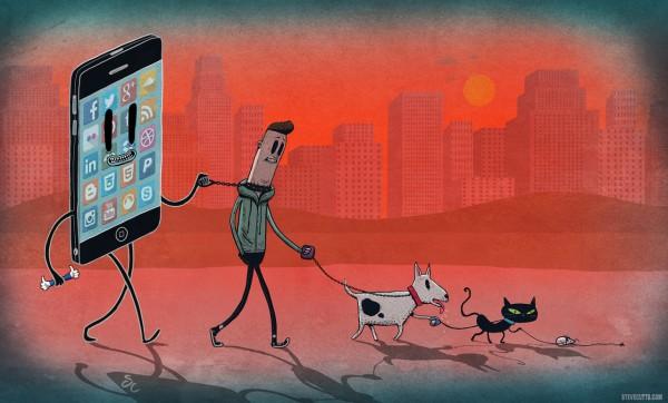 Somos la mascota del móvil