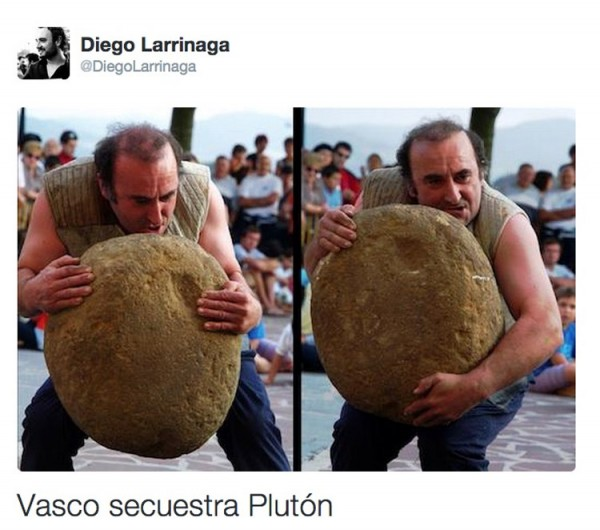 Vasco secuestra Plutón
