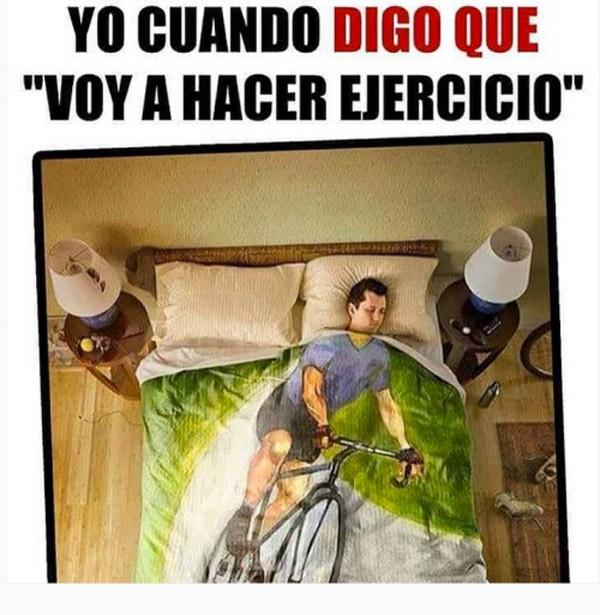 Voy a hacer ejercicio