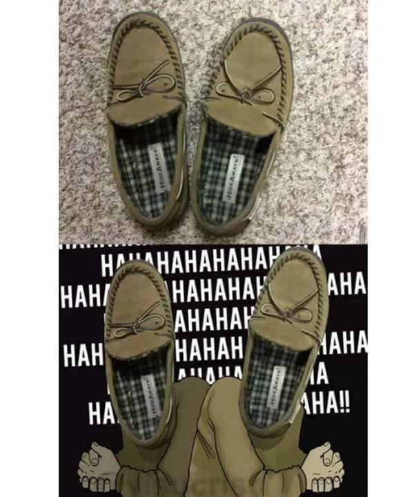 Zapatillas malévolas