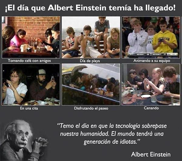 El día que temía Albert Einstein