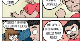 Pizza sin mí