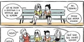 Problemas del primer mundo: reunión de amigas