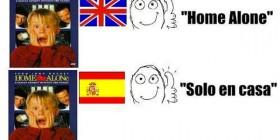 Solo en casa en diferentes países