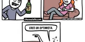 Eres un optimista