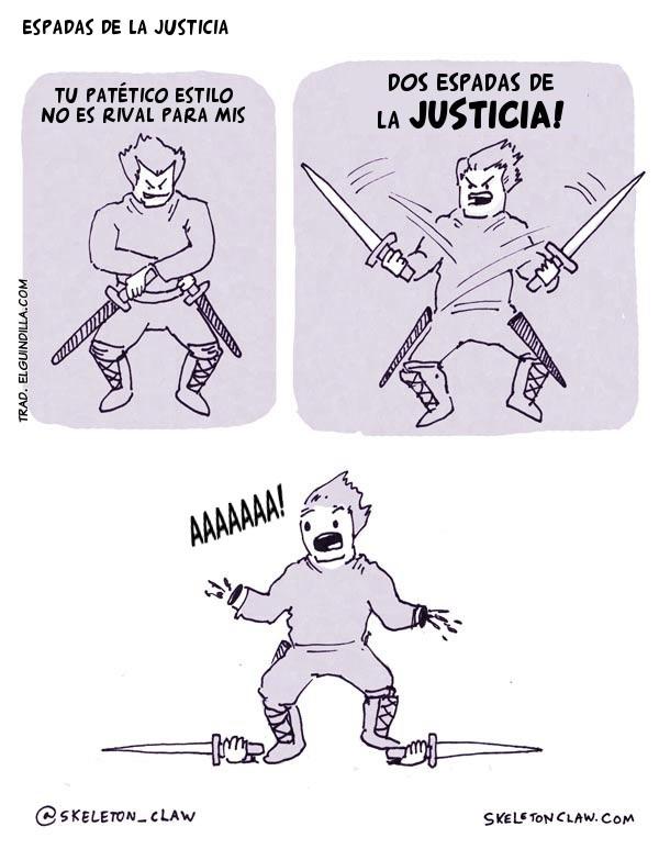 Espadas de la justicia