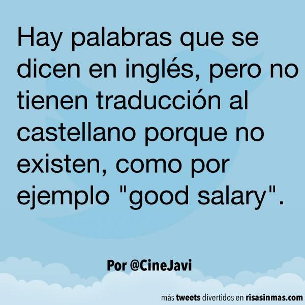 Palabras en inglés sin traducción al castellano