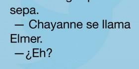 Chayanne se llama Elmer