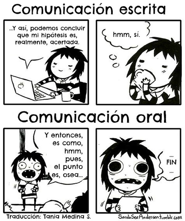 Comunicación escrita y oral