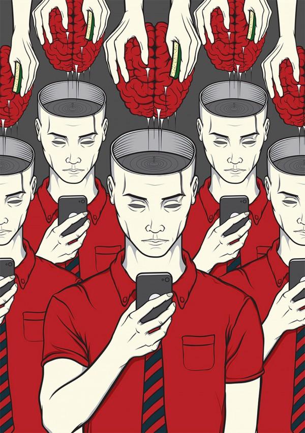 El smartphone nos hace perder la cabeza