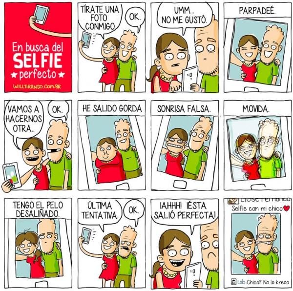 En busca del selfie perfecto