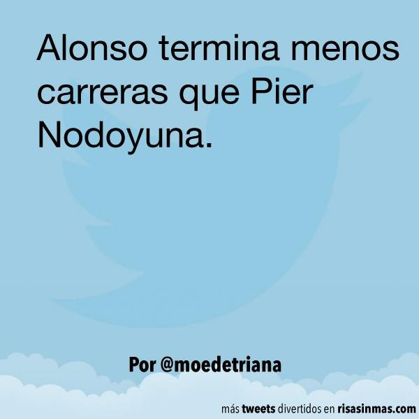 Fernando Alonso y Pier Nodoyuna