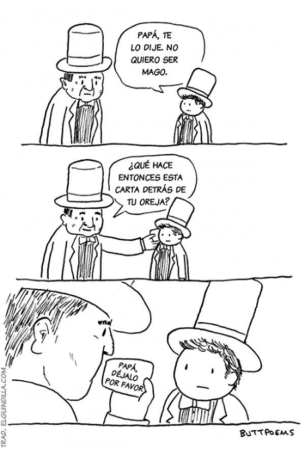 No quiero ser mago