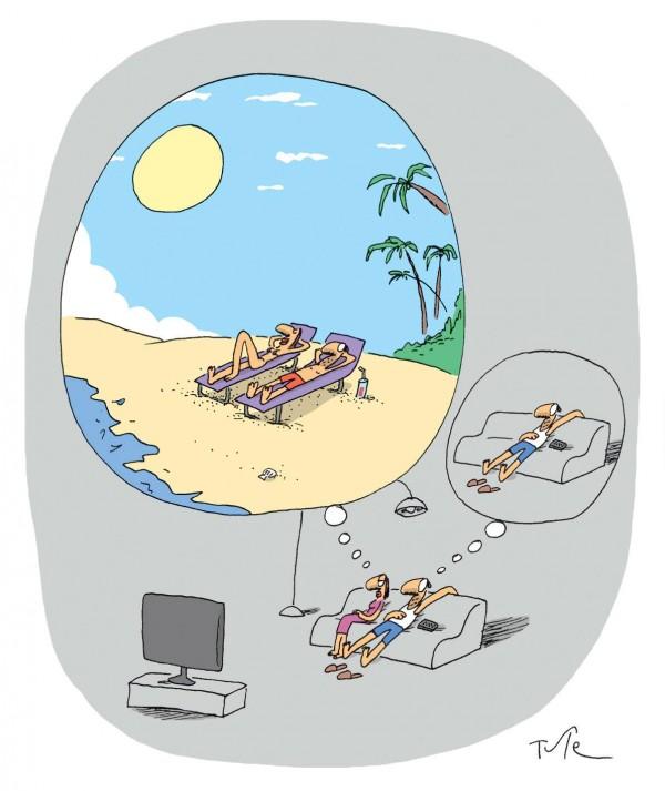 Pensando en las vacaciones