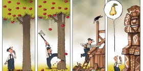 Talando árboles