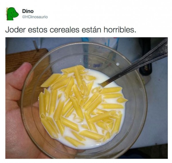 Estos cereales están horribles