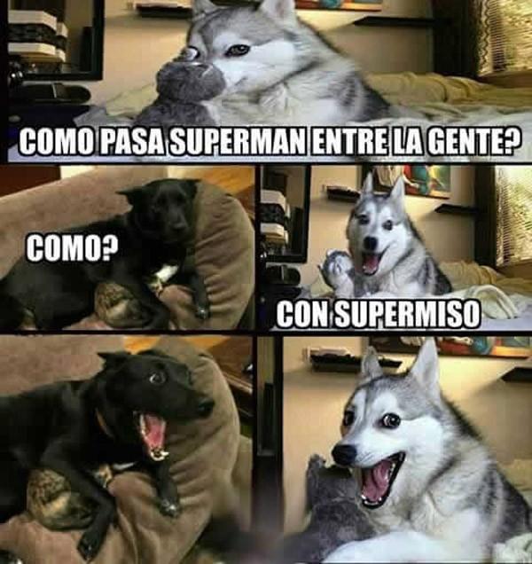 ¿Cómo pasa Superman entre la gente?