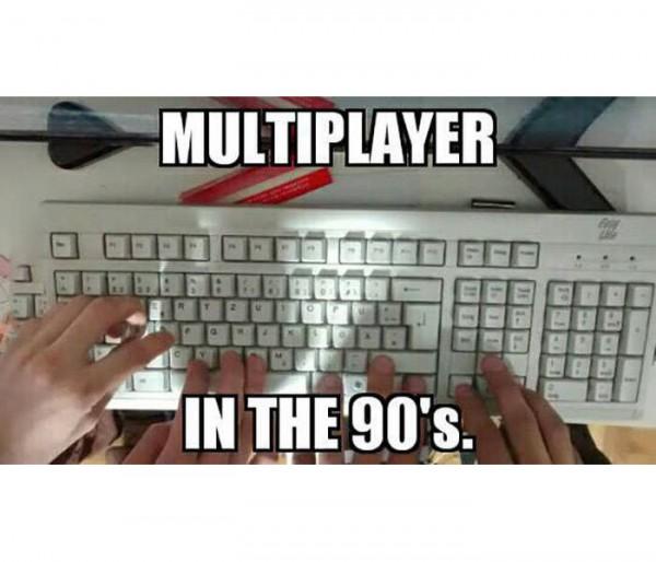 Multiplayer en los años 90
