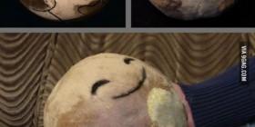 Plutón... de peluche