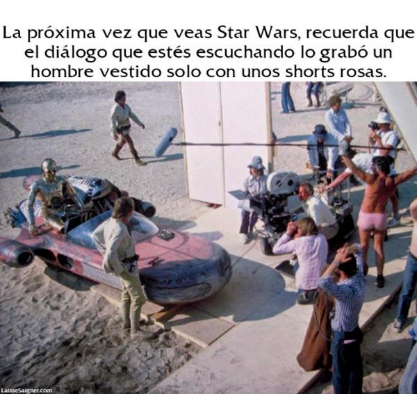 La próxima vez que veas Star Wars