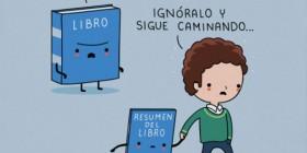 Ignora al libro