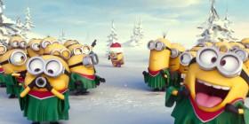 Los Minions cantan villancicos… muy a su estilo